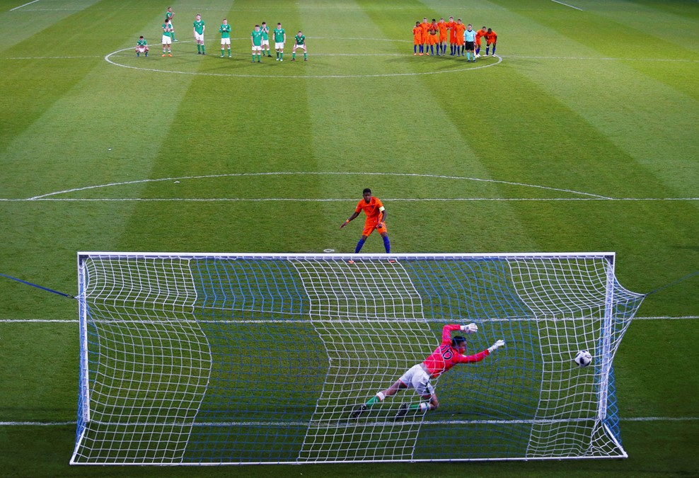 Netherlands winning penalty