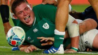 Ireland try v Scotland