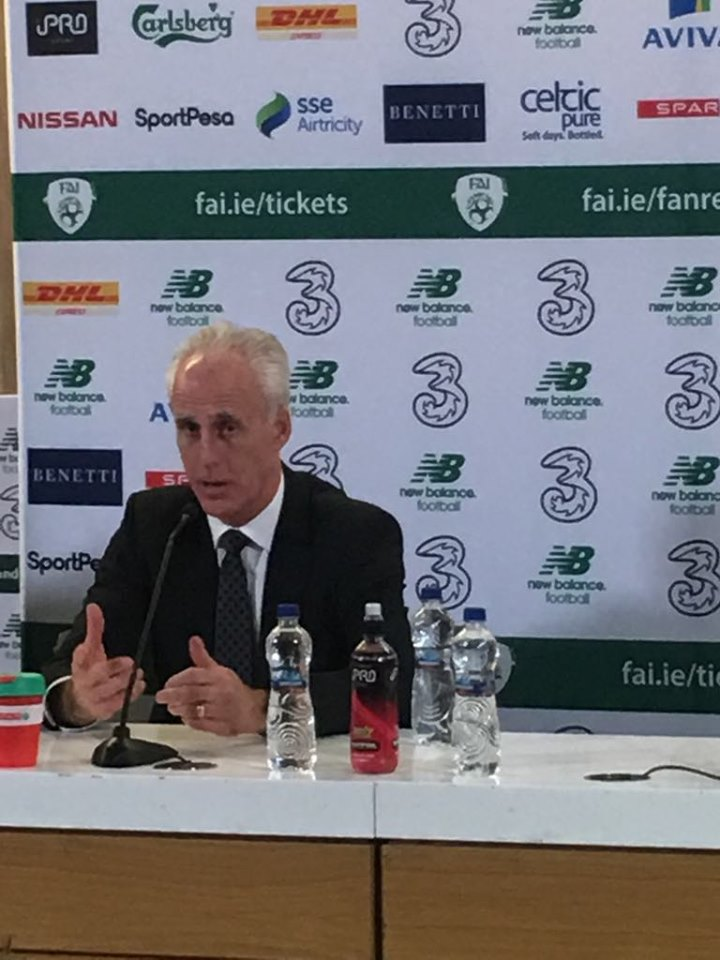 Mick McCarthy post NZ